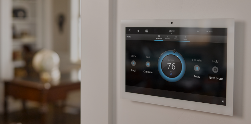smart home control panel