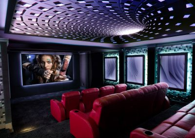Custom Home Theaters Bring the Action to You